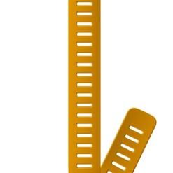Suunto D5 Strap 24mm Dive 1 Silicone Extension Strap D5 Amber XL