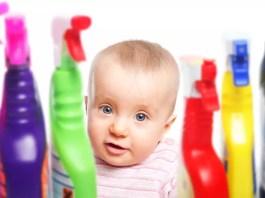 Intoxicação infantil: mantenha as crianças protegidas em casa