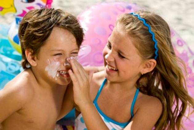 A criança e o verão