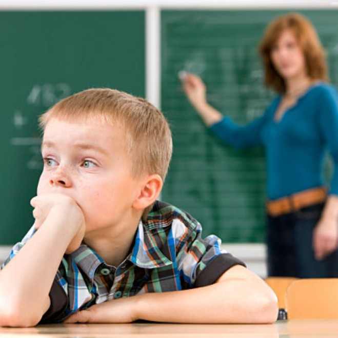Disfunção auditiva provoca insucesso escolar.