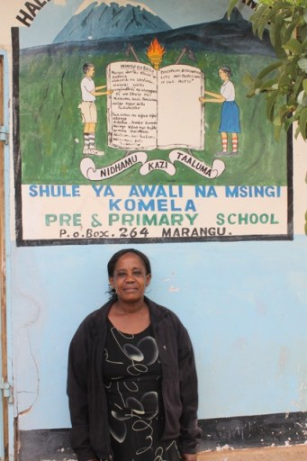 Head teacher at Komela PS
