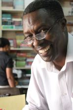 Ngaya smiles at Totoo books