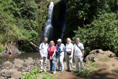 with John at Kinukamori Falls
