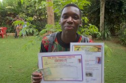 Yudatade completed secondary school. Completed Certificate in Tourism and Guiding and is about to enroll in college for training in French.