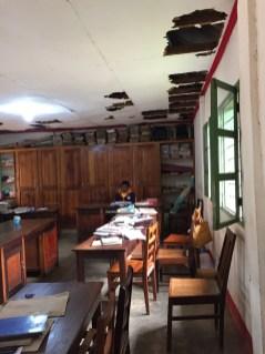teachers staff room ceiling