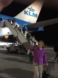 arrival at KIA