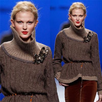 las principales tendencias de la moda otoño-invierno 2011/2012: la malla