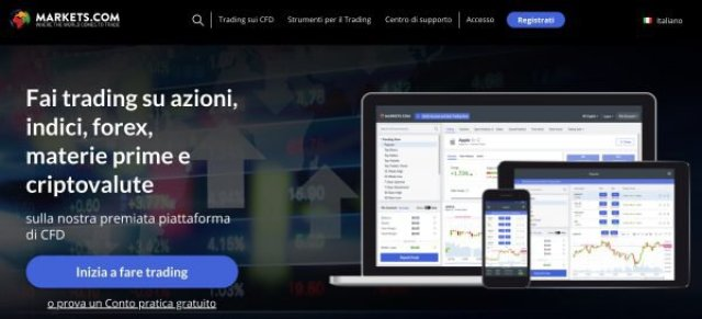 Broker forex Markets.com
