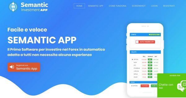 Semantic Investment App- cos'è e come funziona