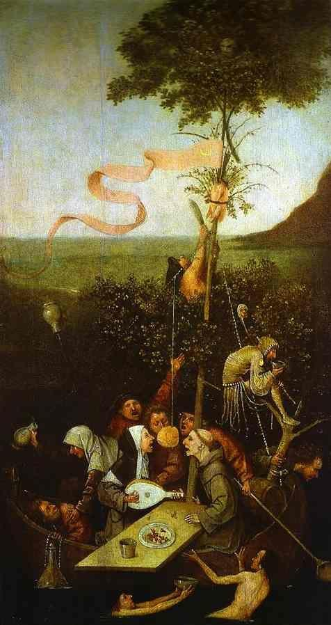 Hieronymus Bosch. The Ship of Fools.