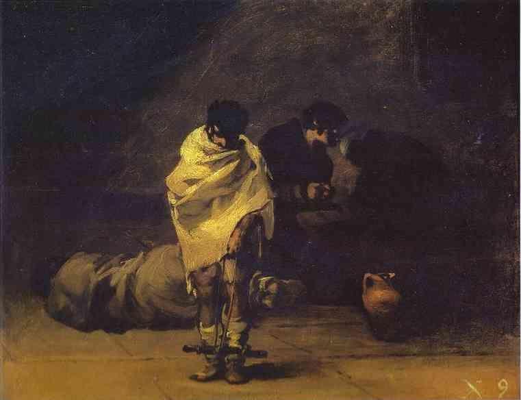 Goya - Prison Scene