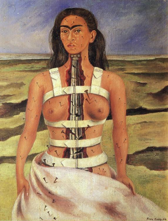 Frida Kahlo. The Broken Column.