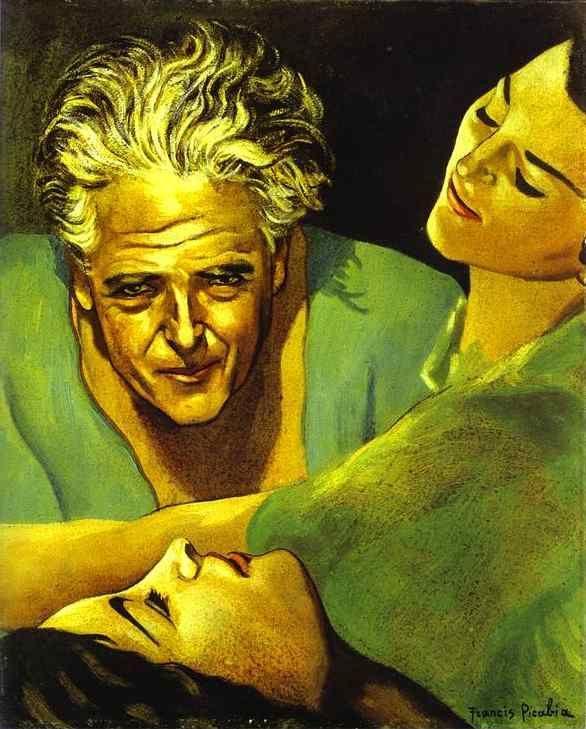 Francis Picabia, Autorretrato