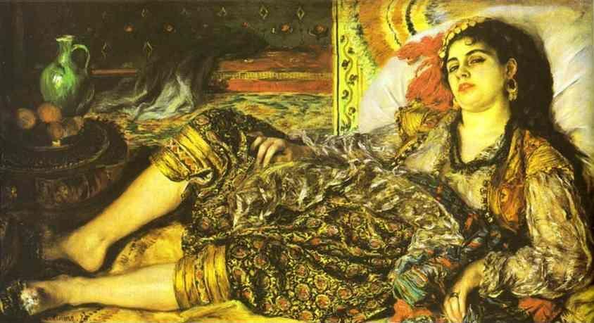 Pierre Auguste Renoir Woman Of Algiers