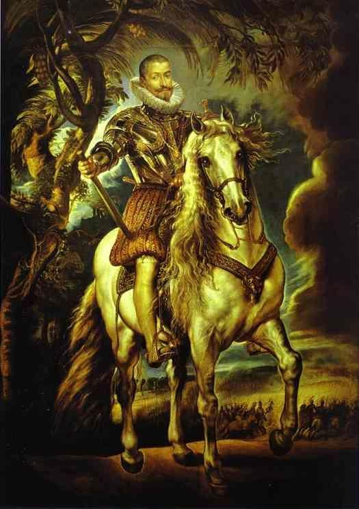 Equestrian Portrait of the Duke of Lurma