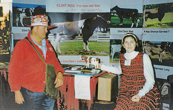 HISTORY OF THE RED HOLSTEIN BREED AND