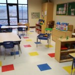 We have a special pre-K room for younger children.