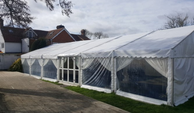 Marquee with Terrace
