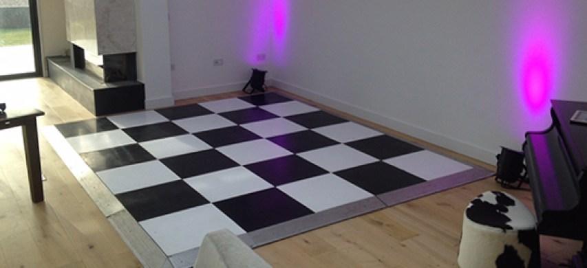 mini dance floor hire
