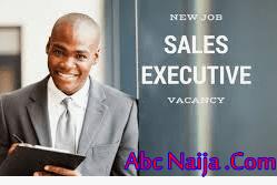 Sales Executive Job in Lagos