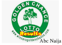 Golden Chance lotto Results