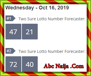 Midweek lotto key live banker