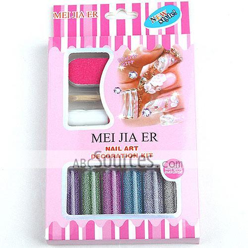 Elegant Nail Art Decoration Kit