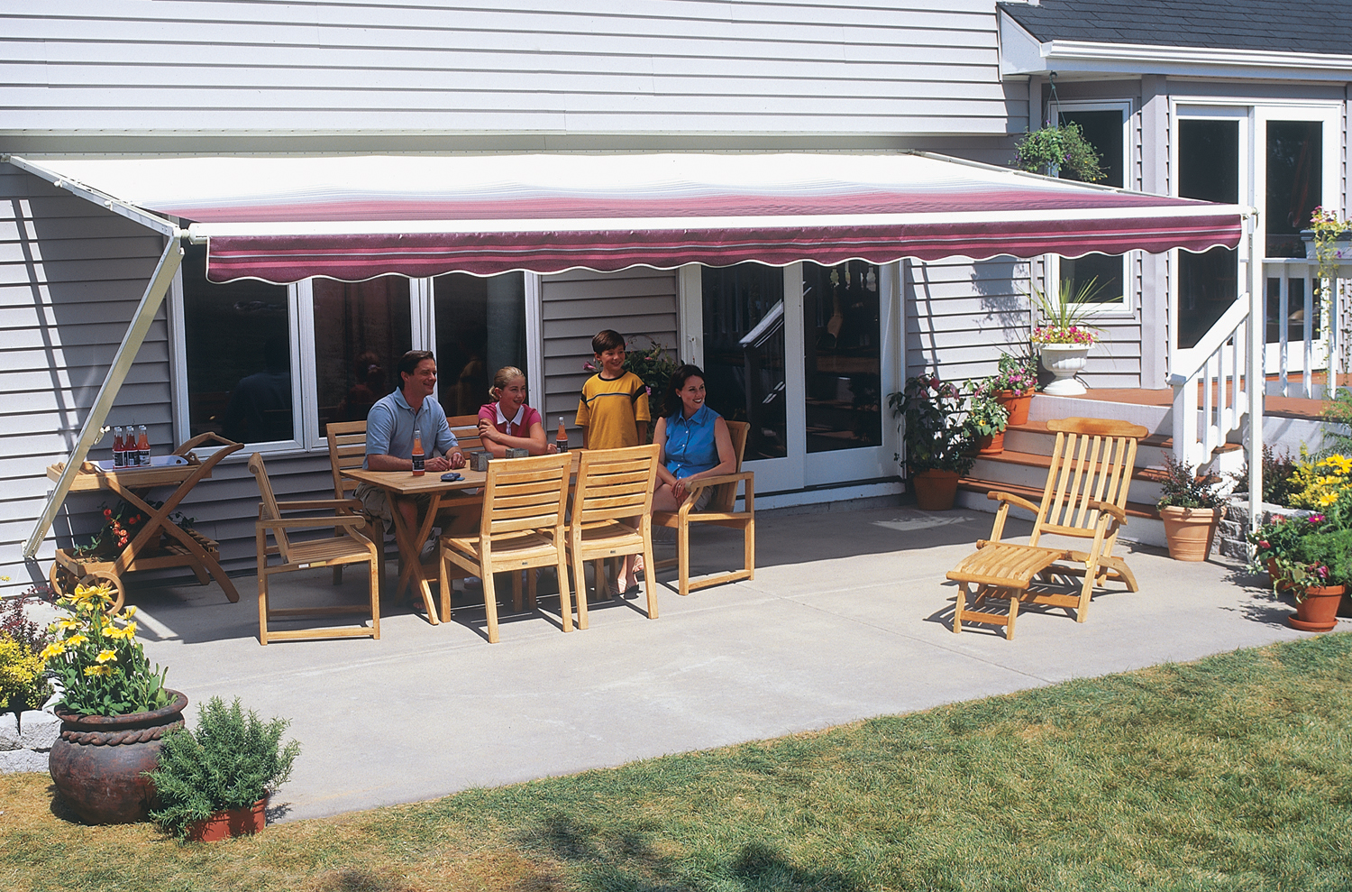 sunsetter retractable awnings toledo oh