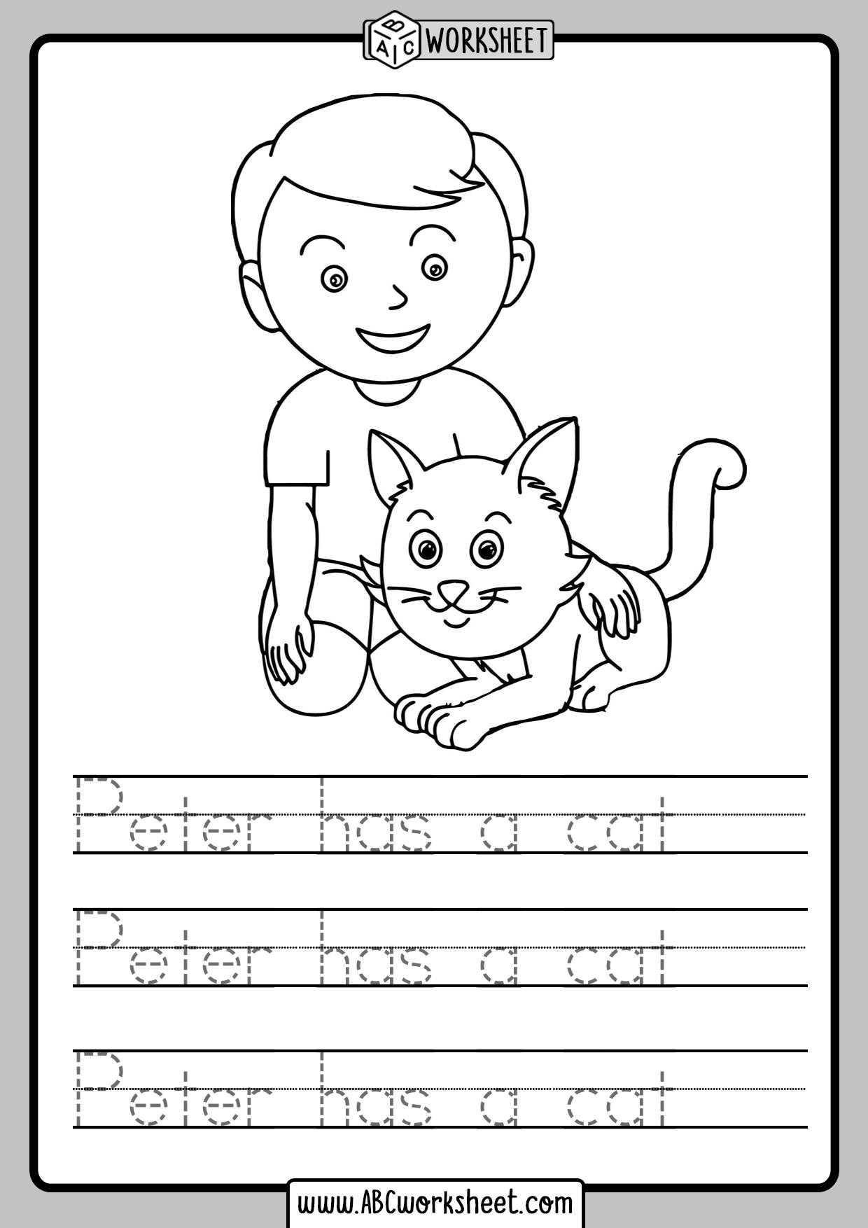 Simple Sentences Tracing