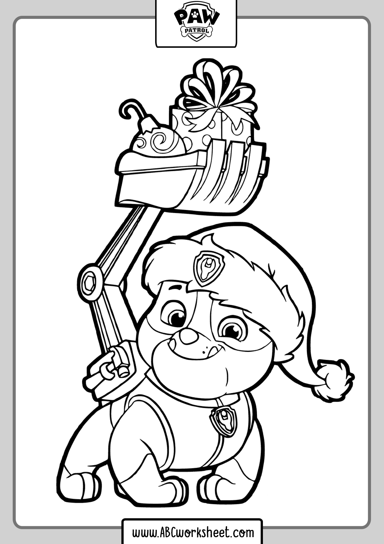 Zuma Paw Patrol Drawings For Coloring