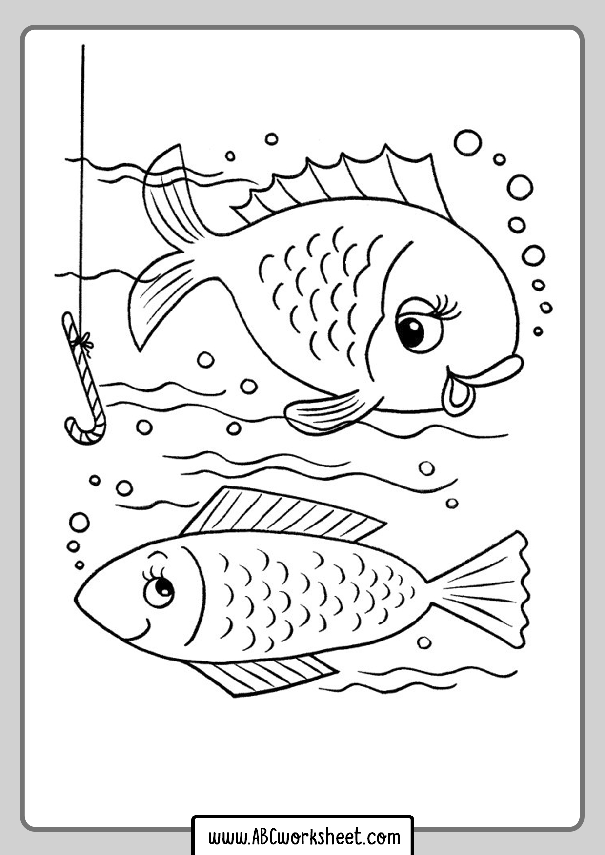 Sea Fishing Coloring Pages