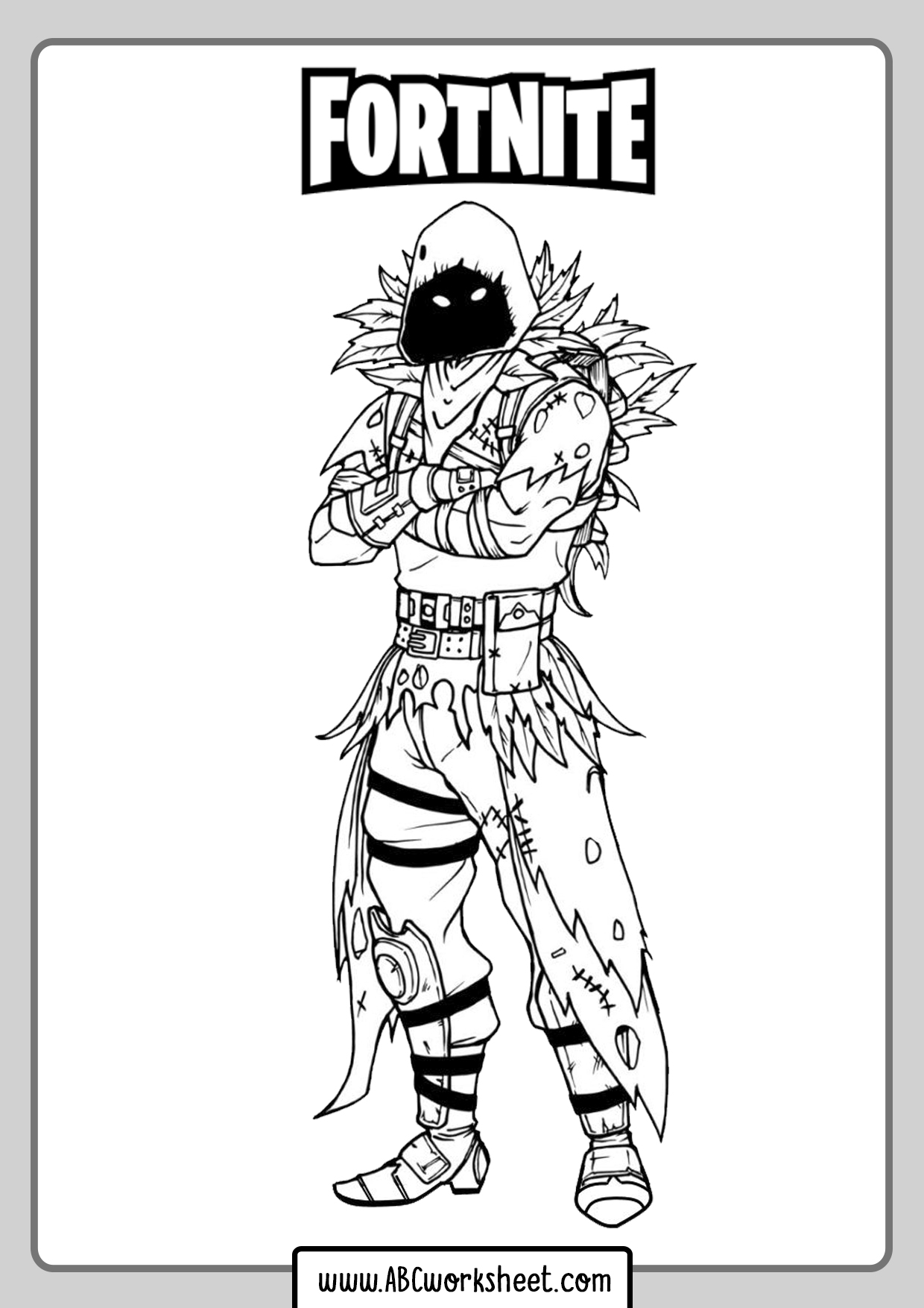 Skins Fortnite Coloring Pages