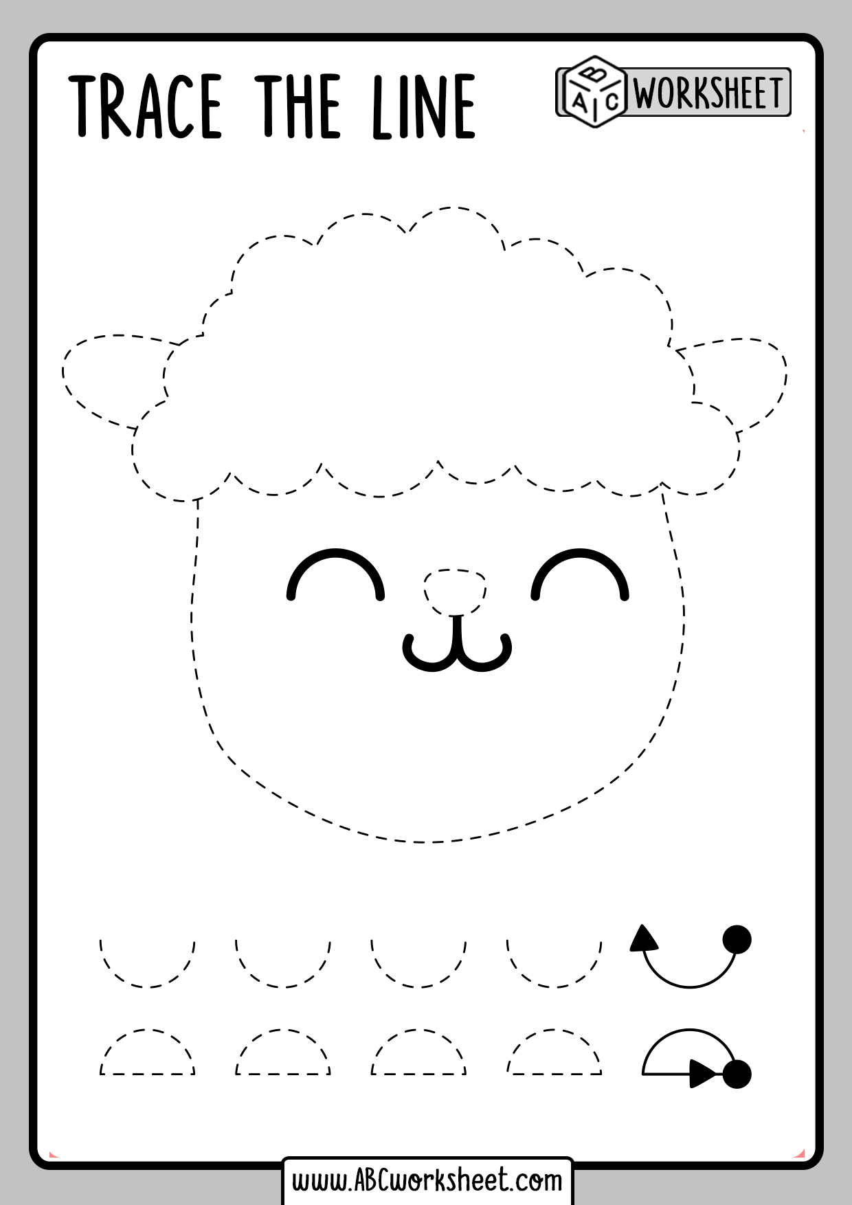 Tracing Worksheets For Kids