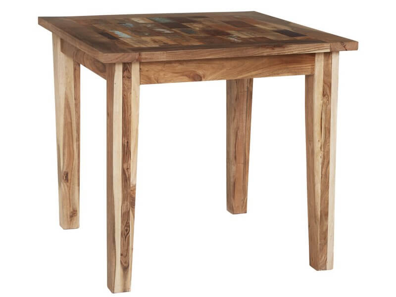 coastal small dining table rustic reclaimed wood