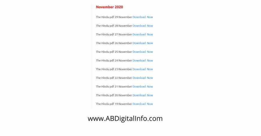 e news paper pdf download