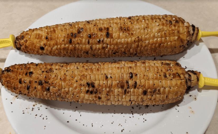 Grilled Corn Using Ninja Foodi Grill
