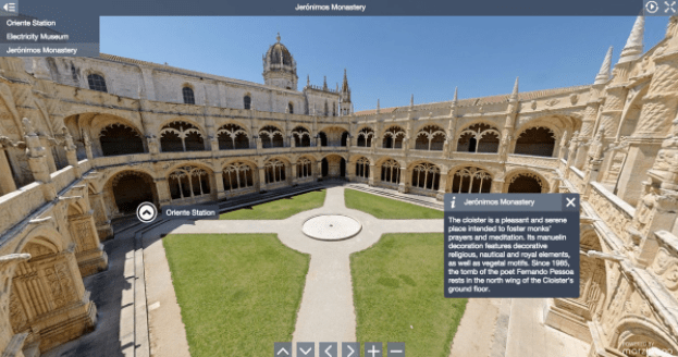 360° Virtual Tours and Wide Panoramic Images