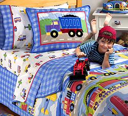 Trains Planes Trucks Kids Bedding By Olive