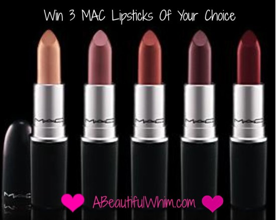 MAC giveaway a beautiful whim