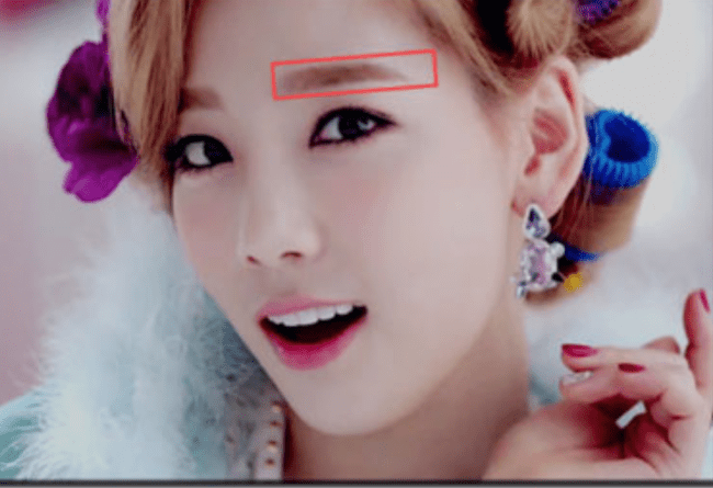 Straight Korean brows from Wengie