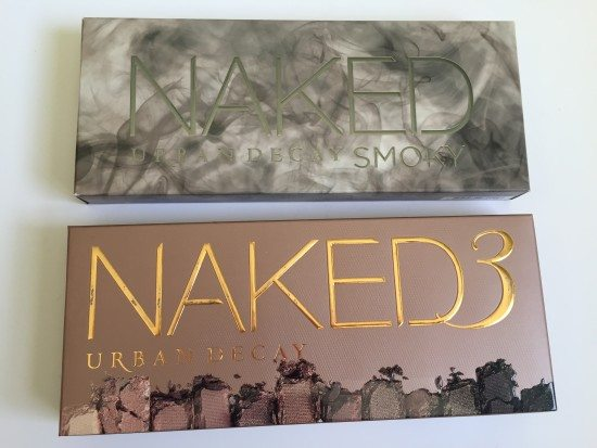 Urban Decay Naked 3 and Urban Decay Naked Smokey