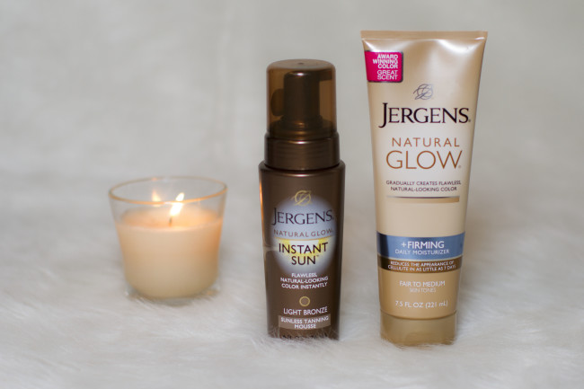 Jergens Natural Glow sunless tanner self tanner