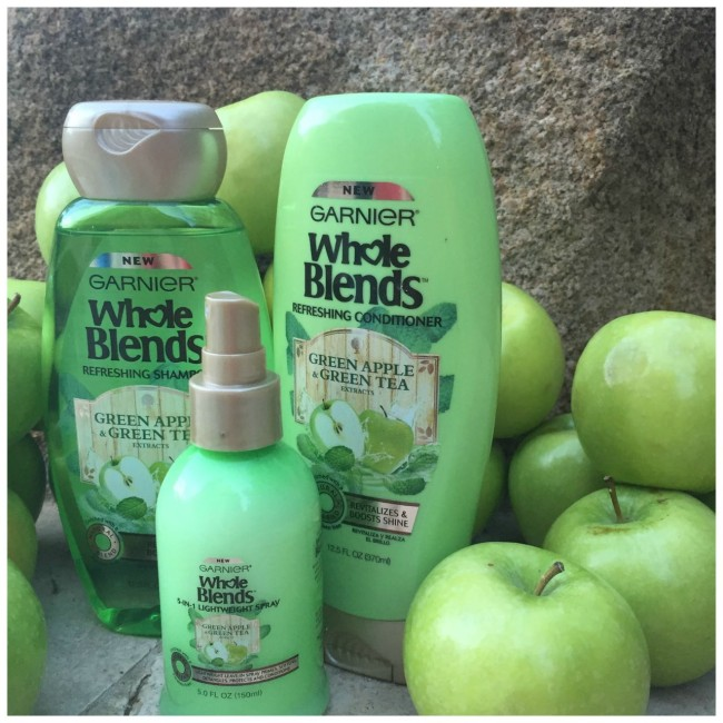 Garner Whole Blends Apple and Green Tea Products Hair Care