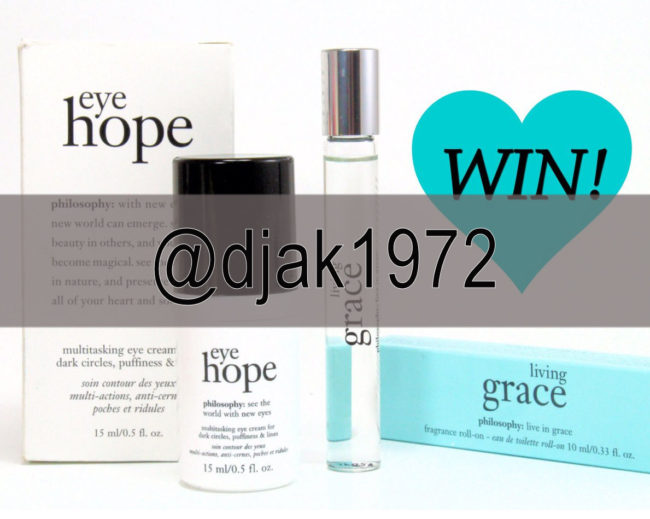 Philosophy Giveaway Eye Hope