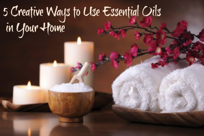 creative Ways to Use Essential Oils in Home