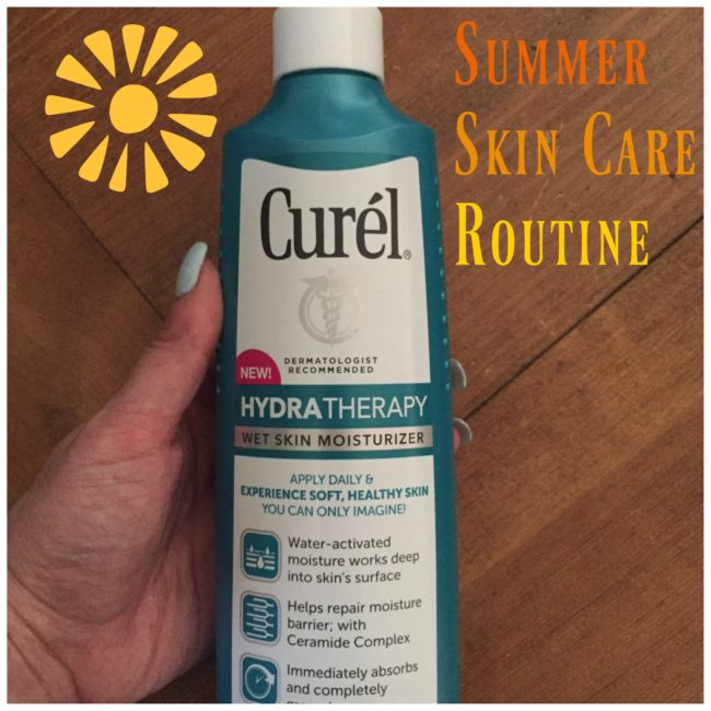 Summer Skin Care Routine Curel Hydra Therapy