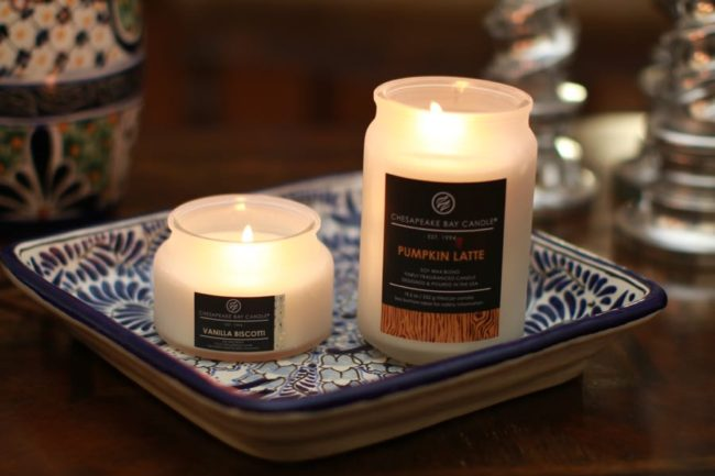 Vanilla Biscotti Pumpkin Latte Chesapeake Bay Candles
