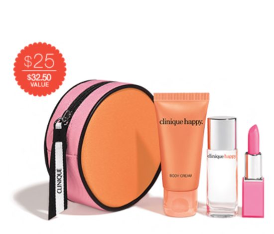 Clinique Happy best holiday gifts 2016
