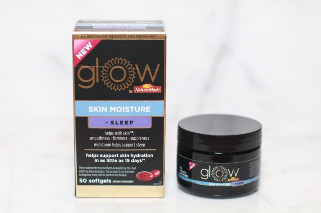 Glow By Nature Made Skin Moisture Sleep glowing skin