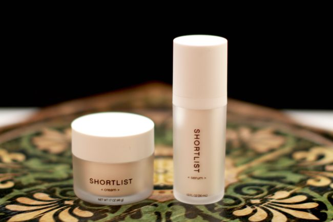 Less is more shortlist skincare